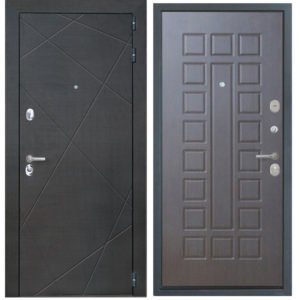 Стальная дверь ИНТЕКРОН СЕНАТОР ФЛ-183 Венге