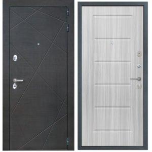 Стальная дверь ИНТЕКРОН СЕНАТОР ФЛ-39 Сандал белый