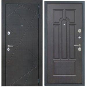Стальная дверь ИНТЕКРОН СЕНАТОР ФЛ-58 Венге