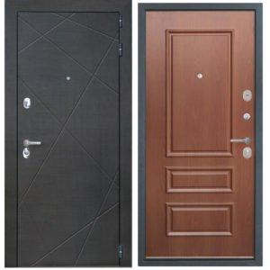 Стальная дверь ИНТЕКРОН СЕНАТОР 3D-1 Итальянский орех