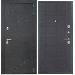 Стальная дверь ИНТЕКРОН СЕНАТОР L-6 Венге