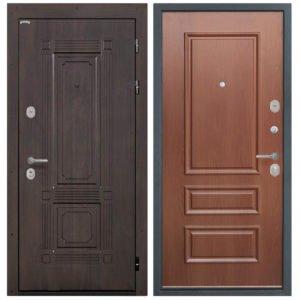 Стальная дверь Интекрон 3D-1 Итальянский орех