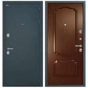 Стальная дверь Интекрон Греция Позитано - Дуб бургундский