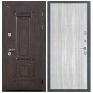 Стальная дверь Интекрон Италия L-5 Сандал белый