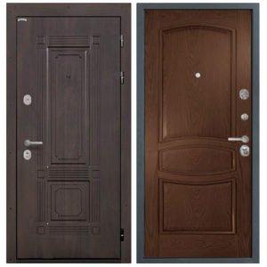 Стальная дверь Интекрон Италия Палермо - Дуб бургундский