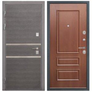 Стальная дверь Интекрон НЕАПОЛЬ 3D-1 Итальянский орех