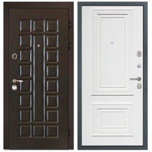 Стальная дверь ИНТЕКРОН СЕНАТОР Сан Ремо 1 RAL 9003