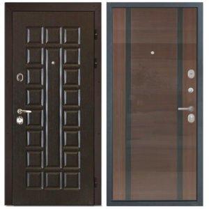 Стальная дверь ИНТЕКРОН СЕНАТОР Спациа 2 Венге Gloss