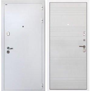 Стальная дверь ИНТЕКРОН КОЛИЗЕЙ White ФЛ-316 белый ясень