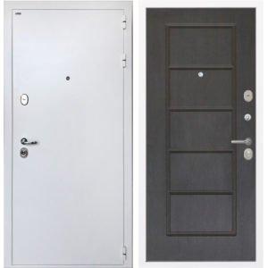 Стальная дверь ИНТЕКРОН КОЛИЗЕЙ White ФЛ-39 Орех премиум