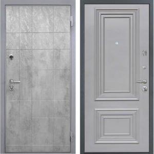 Стальная дверь Интекрон Спарта Грей Сан Ремо 2 RAL 7037