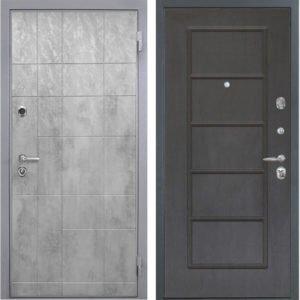 Стальная дверь Интекрон Спарта Грей ФЛ-39 Орех премиум