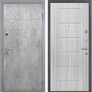 Стальная дверь Интекрон Спарта Грей ФЛ-39 Сандал белый