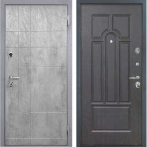 Стальная дверь Интекрон Спарта Грей ФЛ-58 Венге
