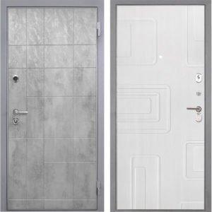 Стальная дверь Интекрон Спарта Грей Элит Роял Вуд белый