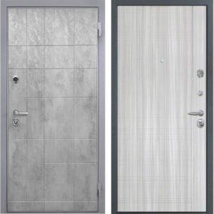 Стальная дверь Интекрон Спарта Грей L-5 Сандал белый