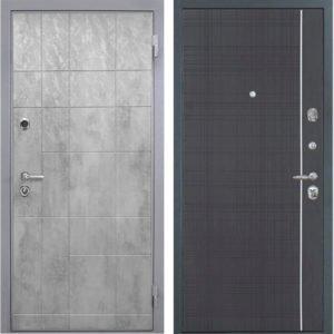 Стальная дверь Интекрон Спарта Грей L-6 Венге