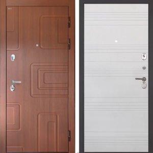 Стальная дверь Интекрон Элит ФЛ-316 белый ясень