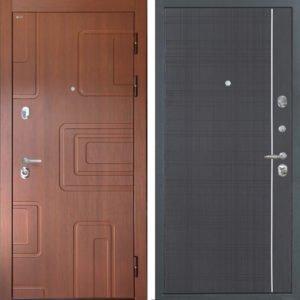 Стальная дверь Интекрон Элит L-6 Венге