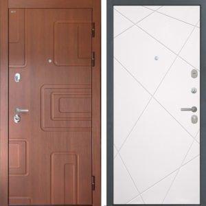 Стальная дверь Интекрон Элит Лучи милк
