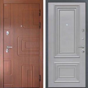 Стальная дверь Интекрон Элит Сан Ремо 1 RAL 7037