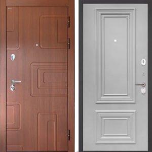 Стальная дверь Интекрон Элит Сан Ремо 1 RAL 7047