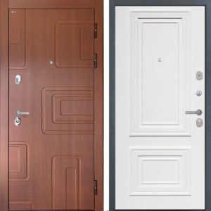 Стальная дверь Интекрон Элит Сан Ремо 1 RAL 9003