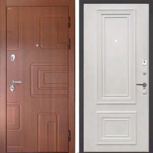 Стальная дверь Интекрон Элит Сан Ремо 1 RAL 9010