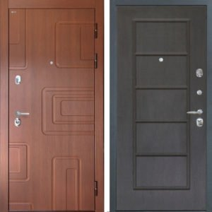 Стальная дверь Интекрон ЭлитФЛ-39 Орех премиум